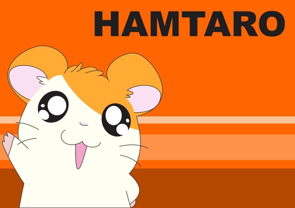 Hamtaro vous fait coucou