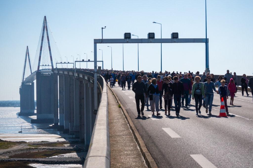 la belle courbe du pont
