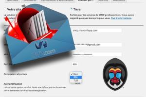 Mailpoet utiliser la connexion SSL sur le port 465 de Mandrill
