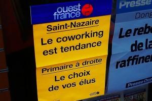 Article chez ouest-france Le coworking est tendance